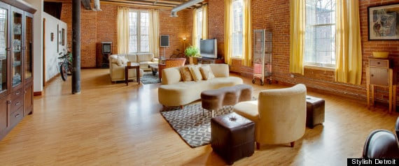 Moving to Detroit: The Coolest Urban Lofts