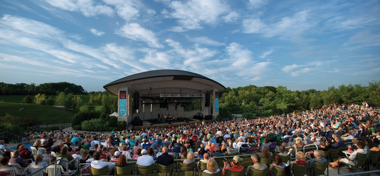 The best outdoor concert venues in michigan around michigan for Landscaping rocks grand rapids mi
