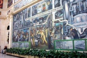DIA Detroit Mural