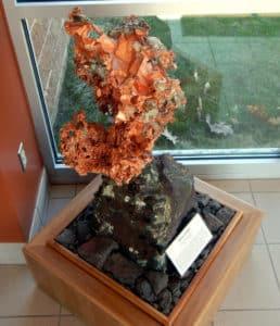 A.E. Seaman Mineral Museum copper