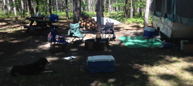Pop-Up Camper Care in Michigan