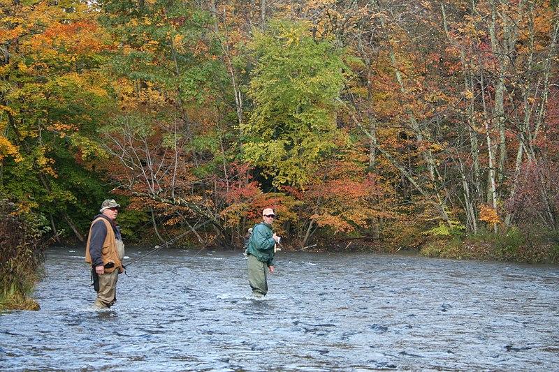 Late Fall Fishing in Michigan